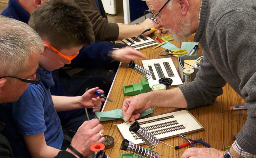 Join us and learn new skills-soldering