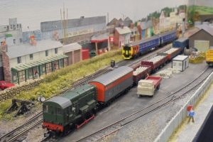Shunting at Seaport docks