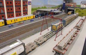Loading gantry at Smethurst Junction