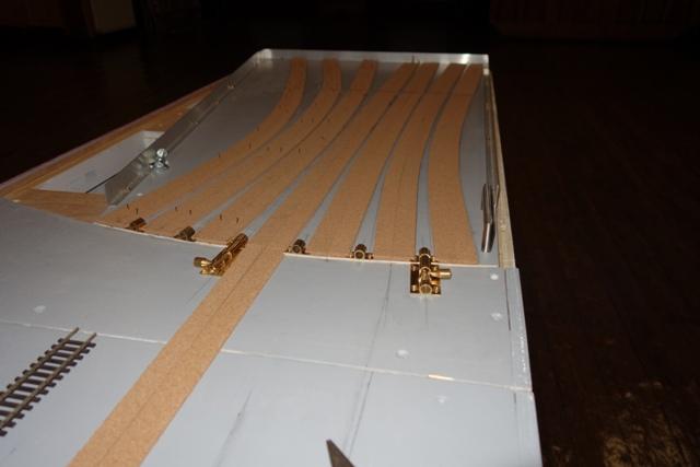Sector plate for the hidden sidings