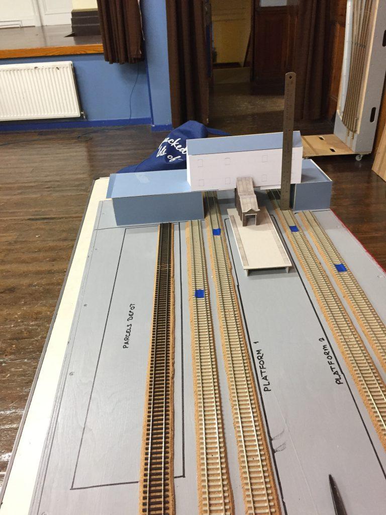 Aldwyn Brook, Station building mock-up